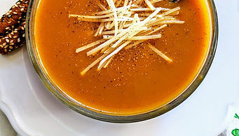 Gingery Butternut Squash Soup